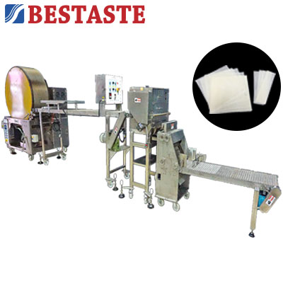Spring roll pastry making machine / Samosa pastry sheet making machine