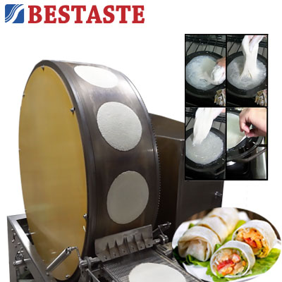 Popiah / Lumpia making machine
